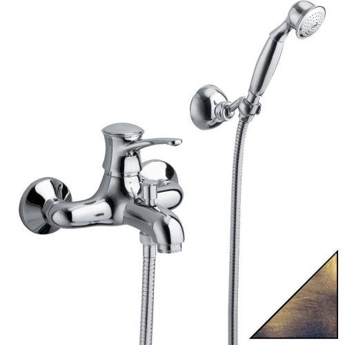Смеситель La Torre Nobel 22020.BRS бронза, для ванны с душем
