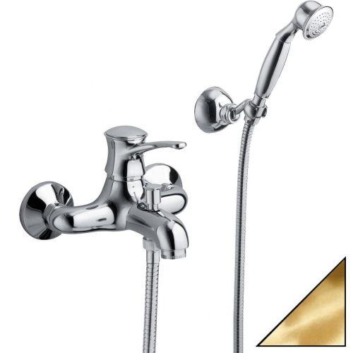 Смеситель La Torre Nobel 22020.OR золото, для ванны с душем