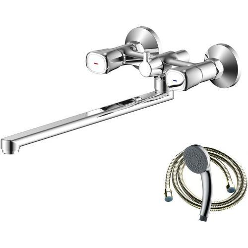 Смеситель Olive'S Vasco 27231VS для ванны с душем, с длинным изливом