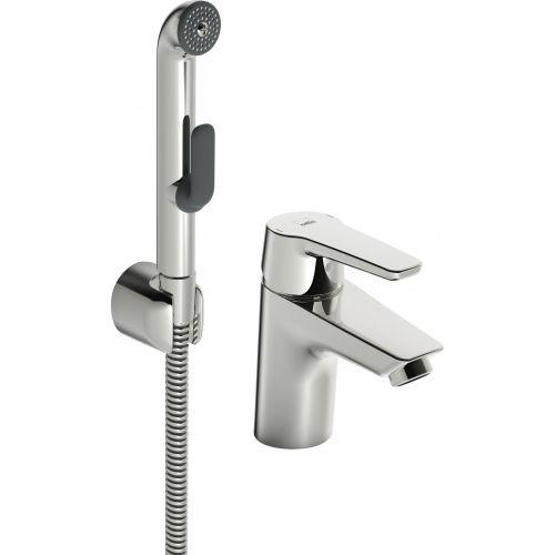 Смеситель Oras Saga 3912F для раковины с гигиеническим душем