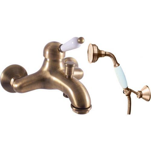 Смеситель Rav Slezak Labe L554.5/2SM для ванны с душем