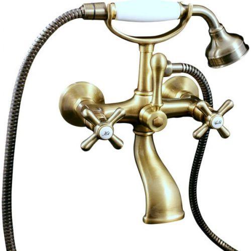 Смеситель Rav Slezak Morava retro MK159.5/2SM для ванны с душем