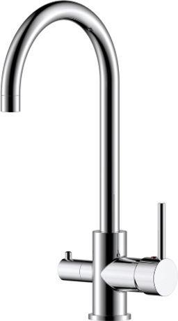 Смеситель Rossinka Z Z35-28 для кухонной мойки, хром