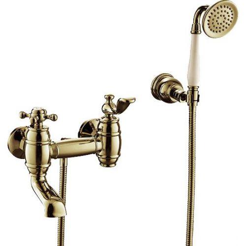 Смеситель Timo Lina 7034/02Y antique, для ванны с душем