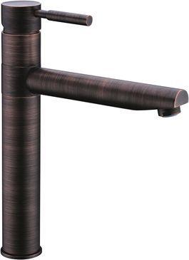 Смеситель Wasserkraft A8147 для кухонной мойки, темная бронза