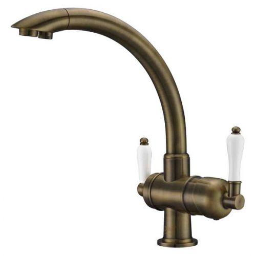 Смеситель Zorg Clean Water ZR 327 YF antique для кухонной мойки