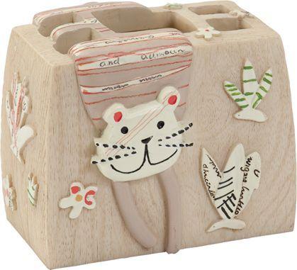 Стакан Creative Bath Animal Crackers для зубных щеток
