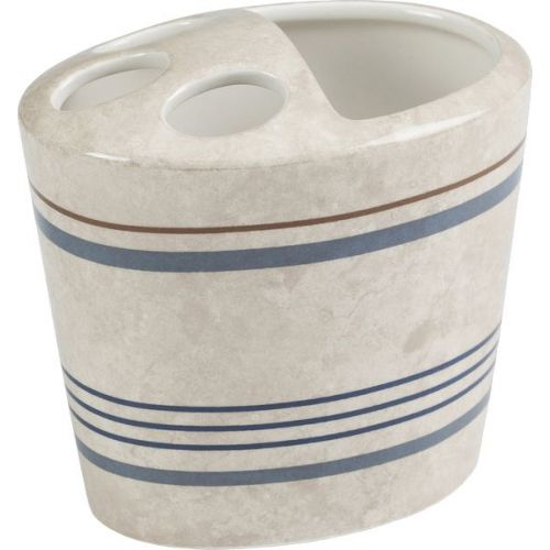 Стакан Creative Bath Ticking Stripe для зубных щеток