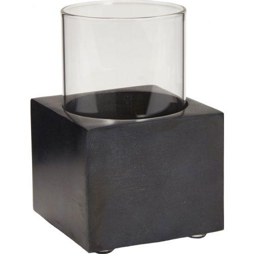 Стакан Kassatex Noir ANO-T-BK для зубной пасты, темно-серый