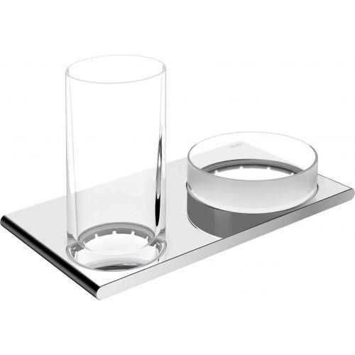Стакан Keuco Edition 400 11554 с чашей для мелочей