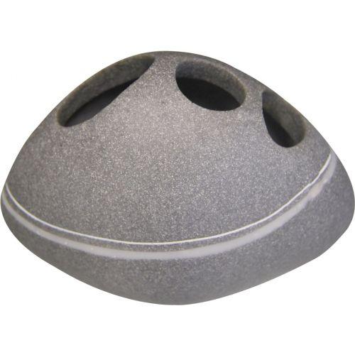 Стакан Ridder Little Rock 22190207 для зубных щеток, серый