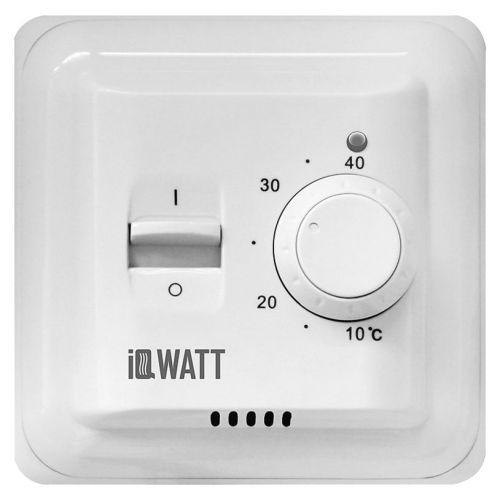 Терморегулятор IQ Watt Thermostat M белый