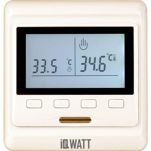 Терморегулятор IQ Watt Thermostat P кремовый