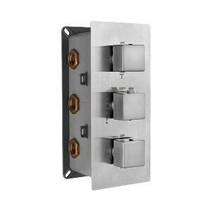 Термостат RGW Shower Panels SP-41-03 С ВНУТРЕННЕЙ ЧАСТЬЮ, для душа