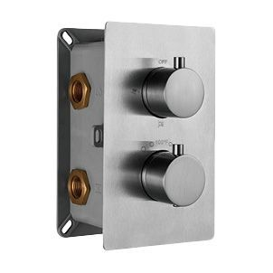 Термостат RGW Shower Panels SP-42-01 С ВНУТРЕННЕЙ ЧАСТЬЮ, для душа