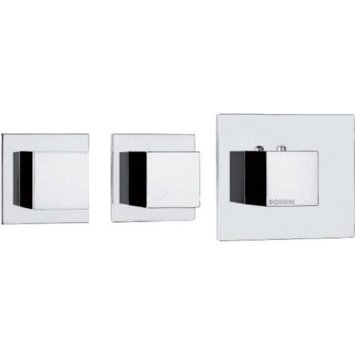 Термостат Bossini Cube 2 Outlets LP Z032203 для ванны с душем, хром
