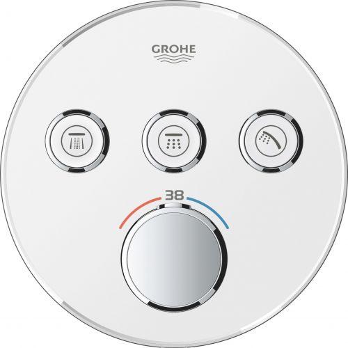 Термостат Grohe Grohtherm SmartControl 29904LS0 для ванны с душем, moon white