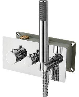 Термостат RGW Shower Panels SP-44-01 С ВНУТРЕННЕЙ ЧАСТЬЮ, для душа