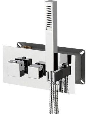 Термостат RGW Shower Panels SP-44-03 С ВНУТРЕННЕЙ ЧАСТЬЮ, для душа
