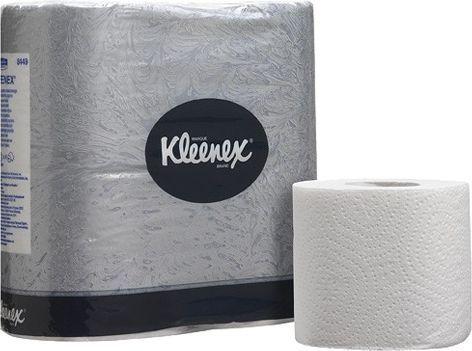 Туалетная бумага Kimberly-Clark Kleenex 8449 (Блок: 24 уп. по 4 рулона)