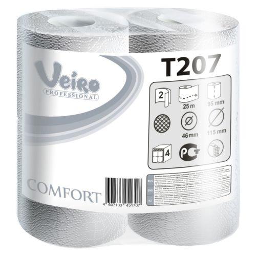 Туалетная бумага Veiro Professional Comfort T207 (Блок: 6 уп. по 8 шт.)