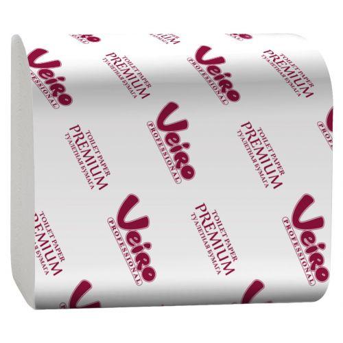 Туалетная бумага Veiro Professional Premium TV302 (Блок: 30 уп. по 250 шт.)