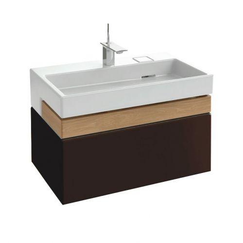 Тумба для комплекта Jacob Delafon Terrace 80 ледяной коричневый лак