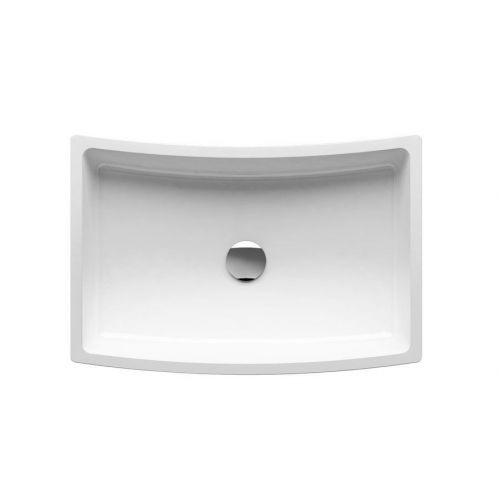 Умывальник FORMY 02 500 D белый со скрытым переливом