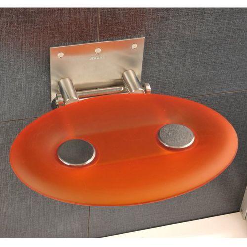 Сиденье для душа Ravak Ovo P orange