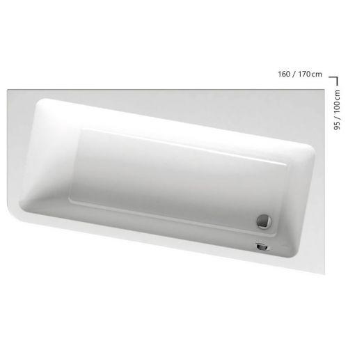 Акриловая ванна Ravak 10° 160 P