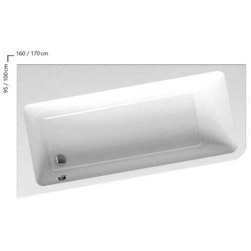 Акриловая ванна Ravak 10° 170 L