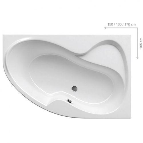 Акриловая ванна Ravak Rosa II R 170 см