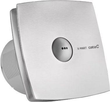 Вытяжной вентилятор Cata X-Mart 10 Timer matic inox