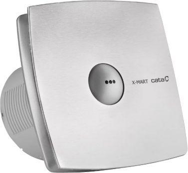 Вытяжной вентилятор Cata X-Mart 12 Timer matic inox