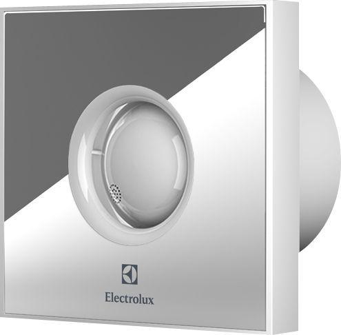 Вытяжной вентилятор Electrolux Rainbow EAFR-100TH с таймером и гигростатом, mirror