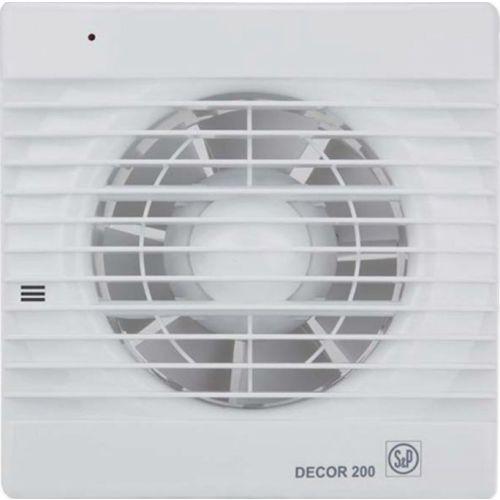 Вытяжной вентилятор Soler&Palau Decor 200CH