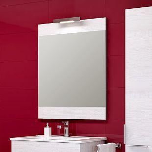 Зеркало Aqwella Brig 60 сосна магия