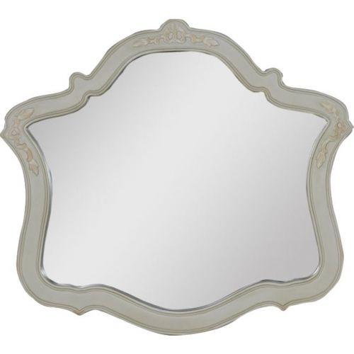Зеркало Demax Флоренция белый перламутр
