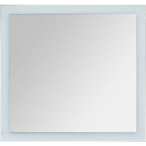 Зеркало Dreja Kvadro 80x3,2x85, с подсветкой
