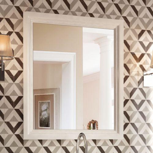 Зеркало Kerama Marazzi Pompei 60 белое, с подсветкой