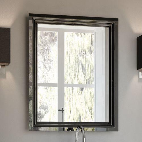 Зеркало Kerama Marazzi Pompei 60 черное, с подсветкой