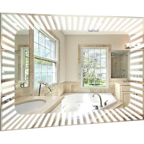 Зеркало Mixline Стиль Гелиос 75 с подсветкой