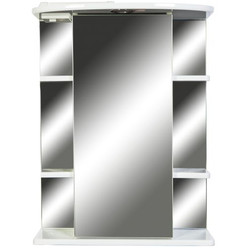 Зеркало-шкаф 1 Orange Кларис 55 белый