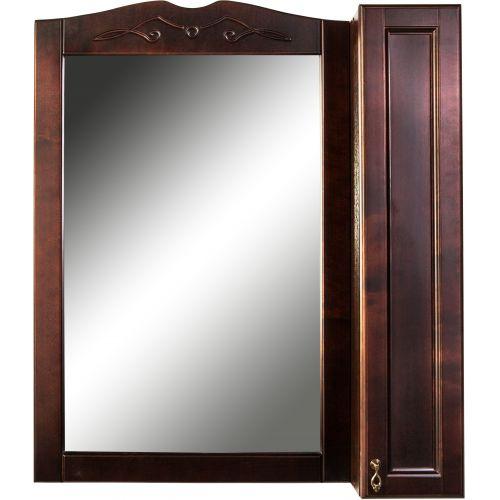 Зеркало-шкаф 1 Orange Классик 85 орех антикварный