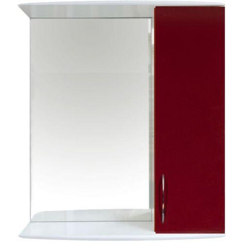 Зеркало-шкаф 1 Orange Роса 50 бордовый