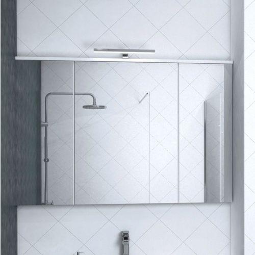 Зеркало-шкаф Акватон Брук 120 со светильником