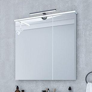 Зеркало-шкаф Акватон Брук 80 со светильником
