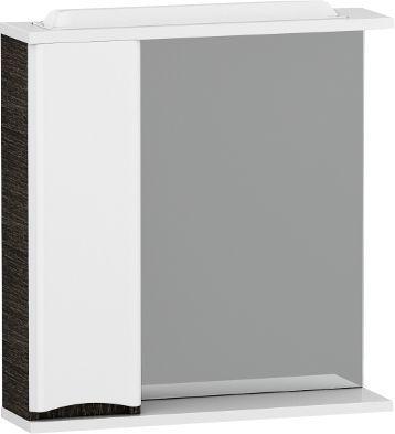 Зеркало-шкаф Am.Pm Like 65 L, белый глянец, венге