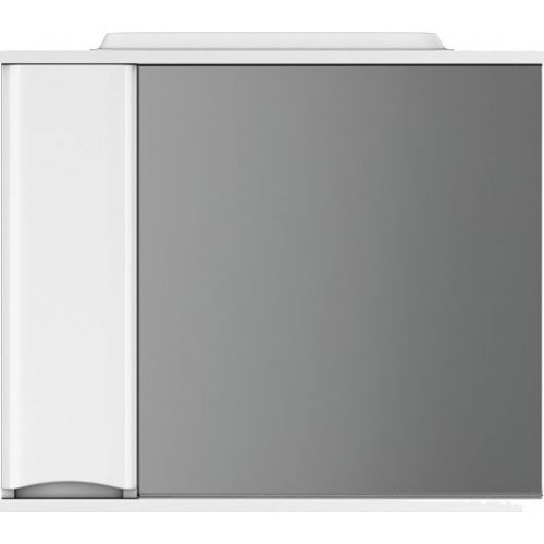 Зеркало-шкаф Am.Pm Like 80 L, белый глянец