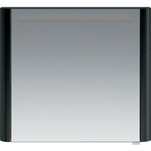 Зеркало-шкаф Am.Pm Sensation 80 L антрацит